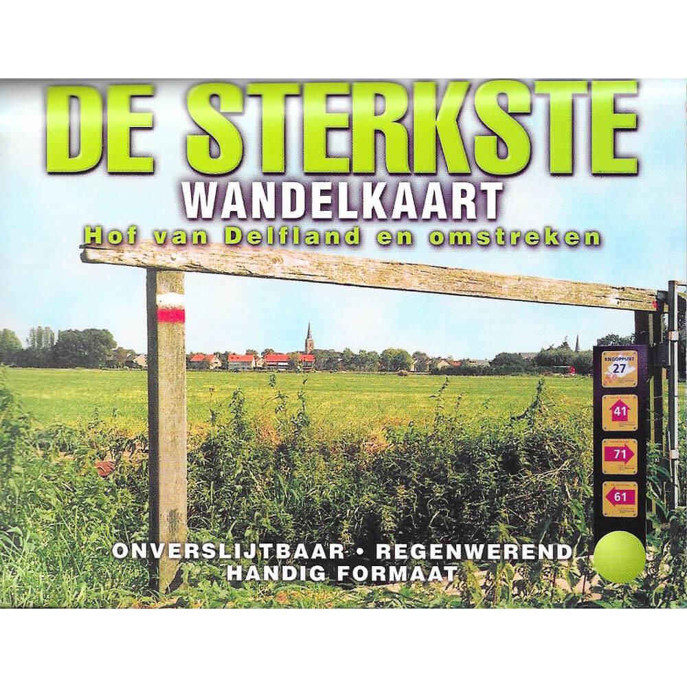 Wandelkaart Hof van Delfland e.o.